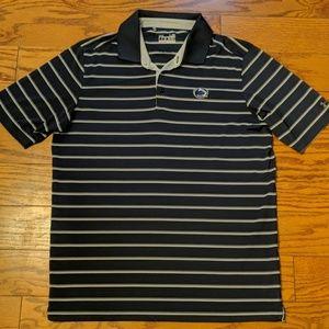 Under Armour Penn State Striped Polo